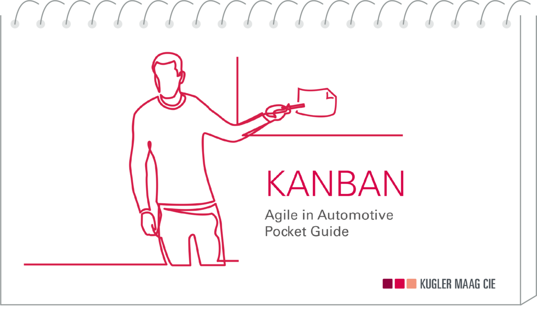 Agile Automotive-Literatur: Cover des Kanban-Pocketguides